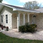 faux finish (stucco brick)